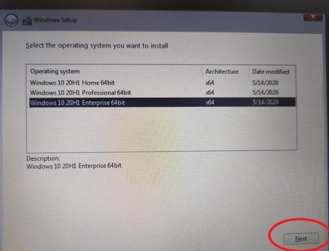 راه حل مشکل نصب ویندوز