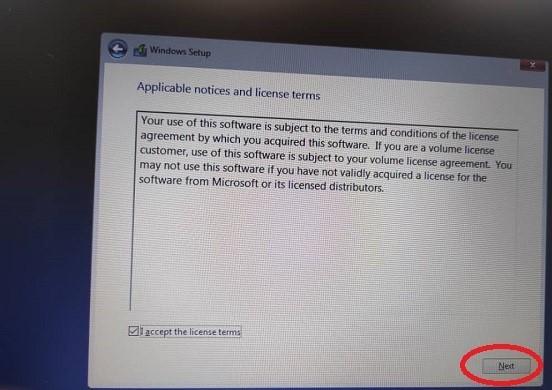 مراحل نصب ویندوز و یا عدم شناسایی هارد