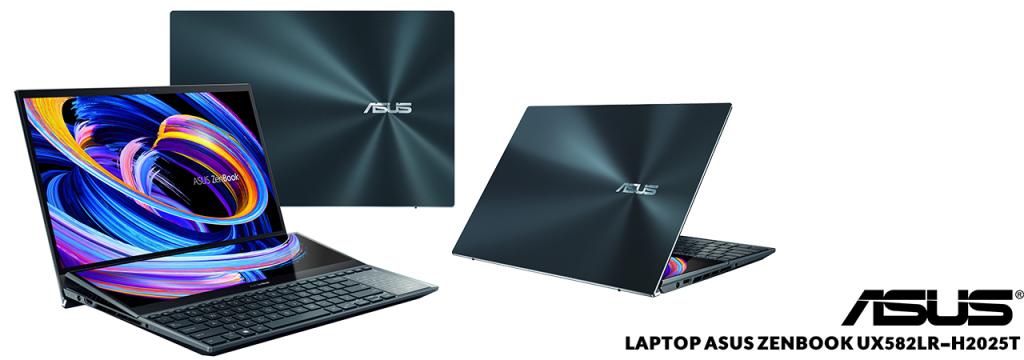معرفی لپ تاپ ایسوس مدل ZenBook UX582LR-H2025T