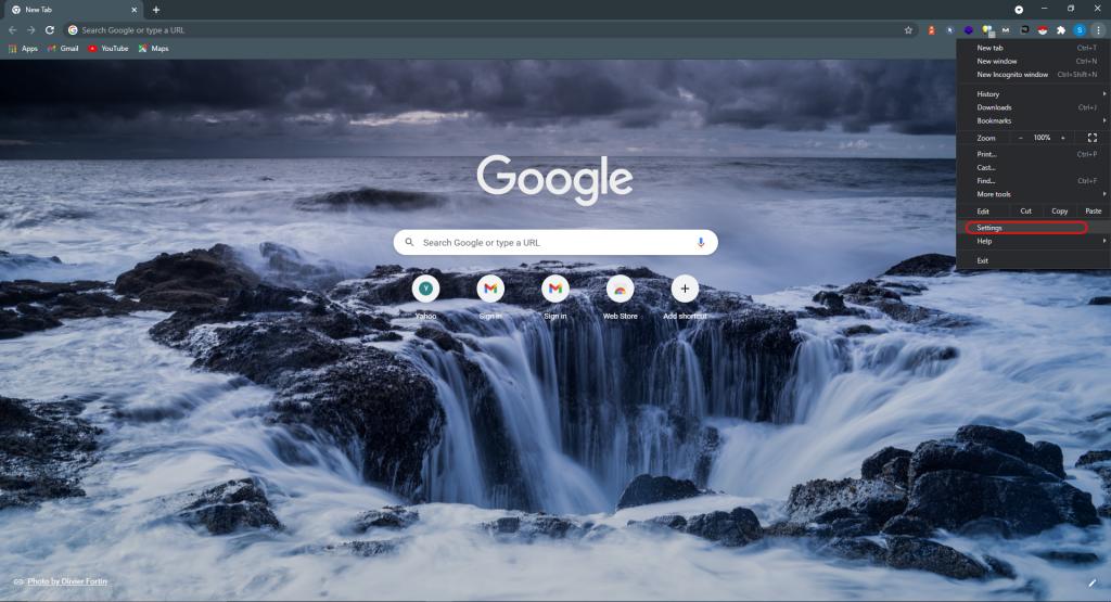 نحوه پاک کردن کش مرورگر لپ تاپ در کروم